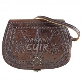 Wallet leather bag