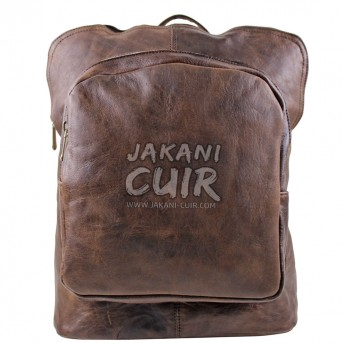 Moroccan Modern Leather Backpack Ref:S44B
