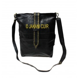 women moroccan leather bag