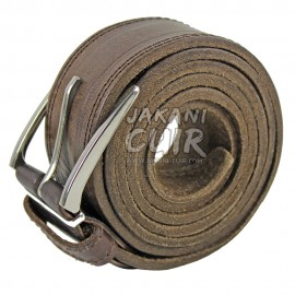 Natural Moroccan Leather Belt Ref:CCA