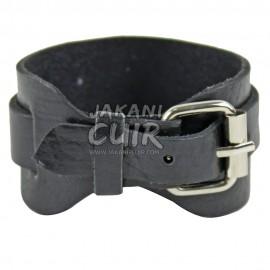 Modern Moroccan leather Bracelet Ref:BR3C