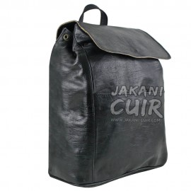 Moroccan Brown Leather Backpack Ref:S41C
