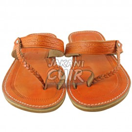Sandale Marocaine Artisanat Réf:S1O