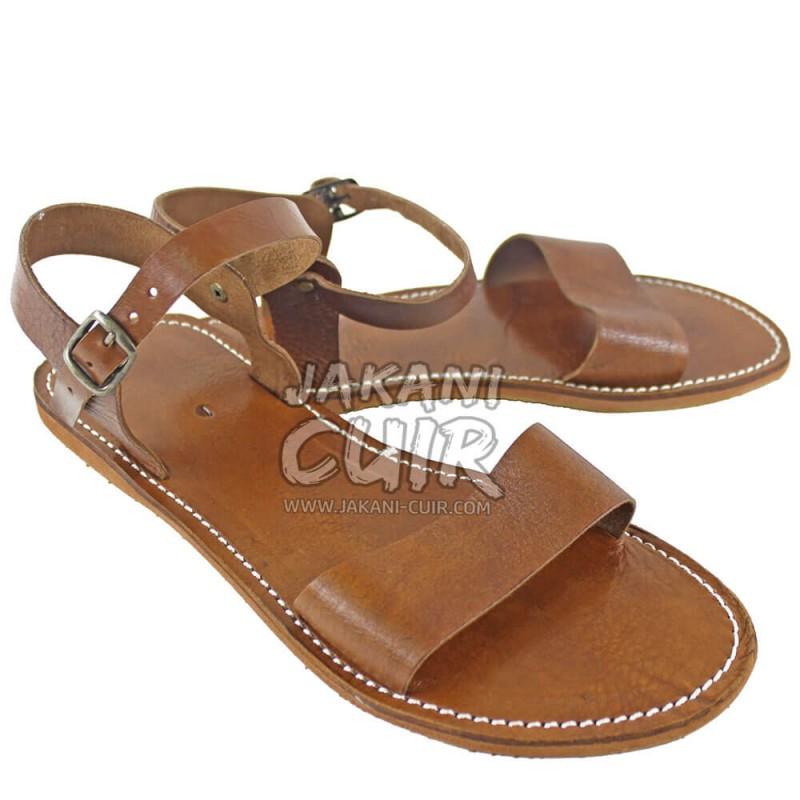 À La Marocaine Cousu MainArtisanale Sandale LqjAR543