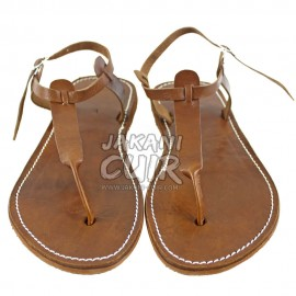 HandMade Moroccan Leather Sandal Ref:S1HM