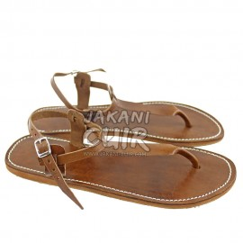 HandMade Moroccan Leather Sandal Ref:S1HM