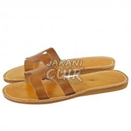 Sandale Marocaine cousue toute en cuir Réf:S1FM