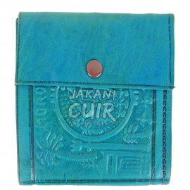 Moroccan Wallet in Printed Leather Réf:PF9T