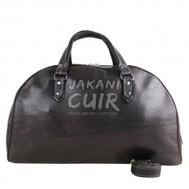 Moroccan travel leather bag