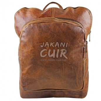 Moroccan Modern Leather Backpack Ref:S44