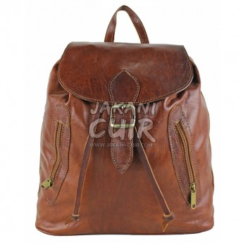 Moroccan Leather Backpack Ref:M59