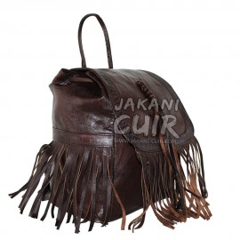 Moroccan Backpack With Fringes Ref:S49