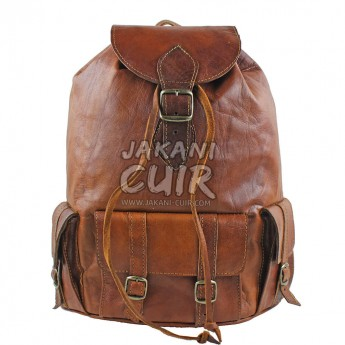 Moroccan Goat Leather Backpack Ref:M7