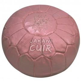 Pouf Marocain Couleur Rose Foncé Réf:PS26-26