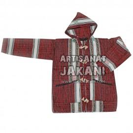 Capuche marocain en laine bio Réf:CP-BD