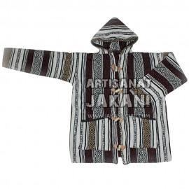 Capuche marocain en laine bio Réf:CP-M