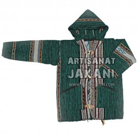 Moroccan hood in organic wool Ref:CP-V
