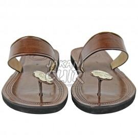 Sandale Marocaine cousu à la main  Réf:S1N
