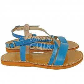 HandMade Moroccan Leather Sandal Ref:S1L