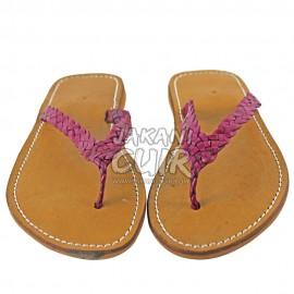 Sandale marocaine en cuir Réf:S1FU