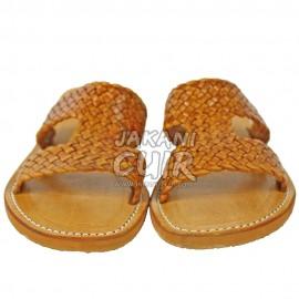 Sandale marocaine en cuir Réf:S1LO