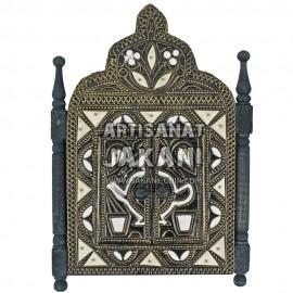 Miroir en cuivre marocain Réf:MER-05