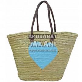Beautiful basket made in Marrakech Ref:PN39