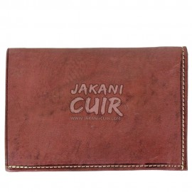 Moroccan wallet in real leather Ref:PFIB