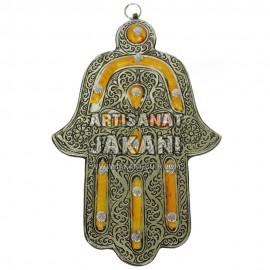Magnifique décoration sous forme de main de fatma Réf:KH-06