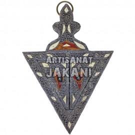 Miroir marocaine en métal  Réf:MER-06