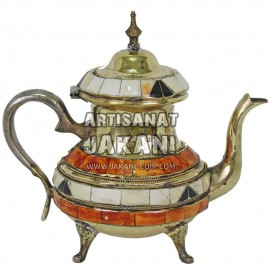 Moroccan metal teapot  Ref:TH-00