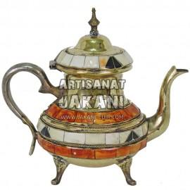 Moroccan metal teapot  Ref:TH-00