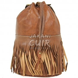 Moroccan Backpack With Fringes Ref:H63A