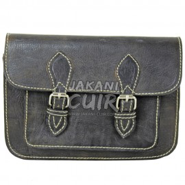 Petit portefeuille en cuir marocain Réf:E24C