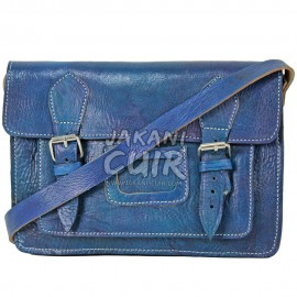Petit portefeuille en cuir marocain Réf:E24D