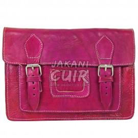 Petit portefeuille en cuir marocain Réf:E24F