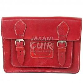 Petit portefeuille en cuir marocain Réf:E24R