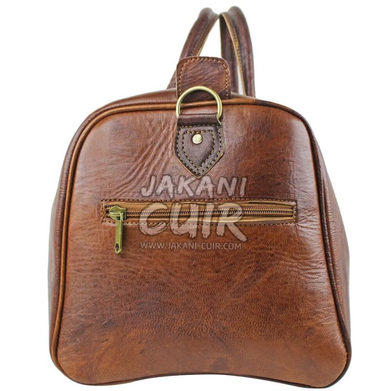 sac voyage cuir sac de voyage en cuir marocain sac de. Black Bedroom Furniture Sets. Home Design Ideas