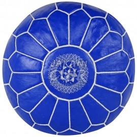 Pouf Marocain Couleur Bleu Réf:PS33-4