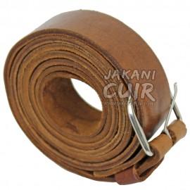 Vintage Moroccan leather belt Ref:CS3