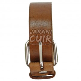 Vintage Moroccan leather belt Ref:CS3