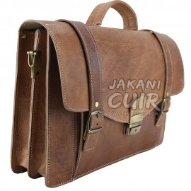 Moroccan leather Business Bag Ref:J4A