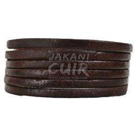 Bracelet En Cuir Marocain artisanal Réf:BR11B