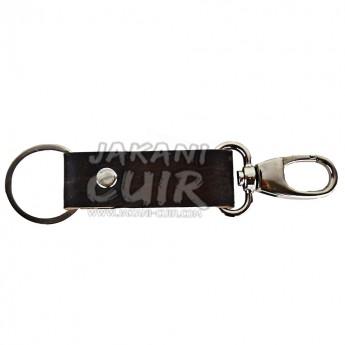Handmade moroccan leather keychain Ref:PR1B