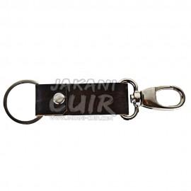 Porte-clé personnalisé en cuir marocain Réf:PR1B