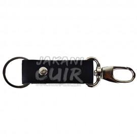 Porte-clé personnalisé en cuir marocain Réf:PR1C
