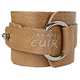 Bracelet En Cuir Marocain Moderne Réf:BR2B