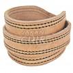 Modern Moroccan Leather Bracelet Ref:BR4A