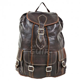 Moroccan Goat Leather Backpack Ref:M6B