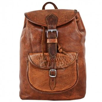 Moroccan Leather Backpack Ref:F1